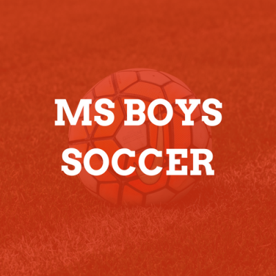 Middle School Boys Soccer Camp