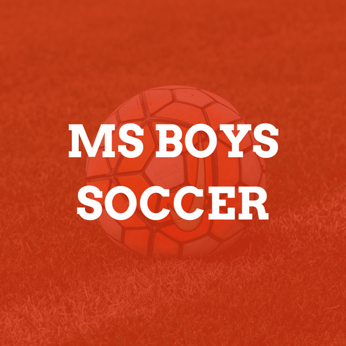 Middle School Boys Soccer Camp